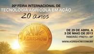 Agrishow deve injetar R$ 100 mi em Ribeirão Preto